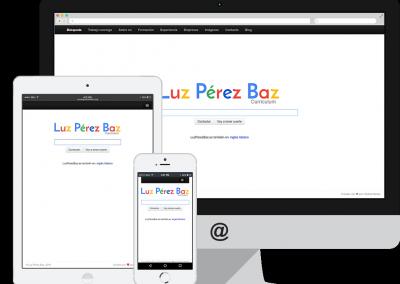 Luz Pérez Baz
